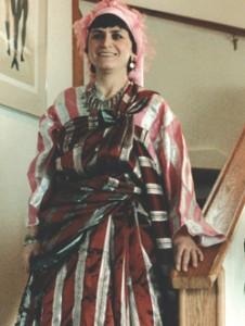 Traditional Libyan dress. Photo courtesy of Jimena/Gina Waldman.