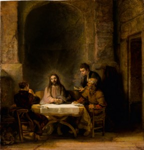 'Supper at Emmaus' Courtesy of the Philadelphia Museum of Art