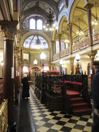 Middle Street Synagogue. Photo by Helen Hill.