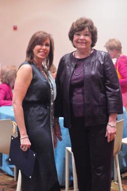 Hadassah Puerto Rico President Moira Taubenfeld (left) and Greater Miami's Diane Issenberg.