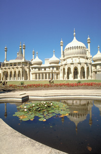 The Royal Pavilion. Photo courtesy of www.visitbrighton.com.