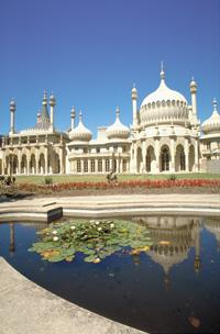 The Royal Pavilion. Photo courtesy of www.visitbrighton.com.