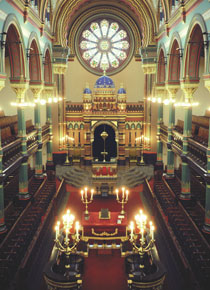 Courtesy of Dr. Cecil Moss/Princes Road Synagogue