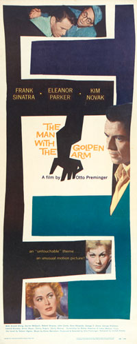 Movie poster by Saul Bass.