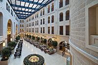 The Waldorf Astoria Jerusalem.