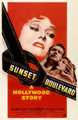 Movie poster from 'Sunset Boulevard.' © Paramount Pictures/Courtesy of the Margaret Herrick Library, Academy of Motion Picture  Arts and Sciences; All images courtesy of the Skirball Cultural Center in Los Angeles.