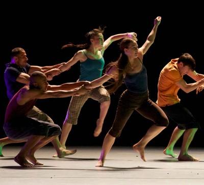 Batsheva performing 'Decadence' in Australia.