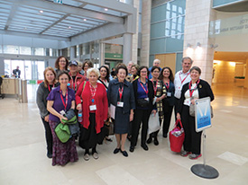 Nurses and physicians visited the new Sarah Wetsman Davidson Hospital Tower in Jerusalem during the mission.