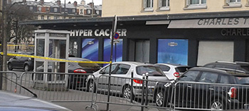 The Hyper Cacher market in France.