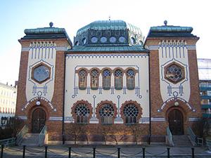 Synagogue in Malmo.