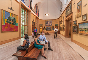 The Barnes Foundation. Image courtesy of Visit Philadelphia.