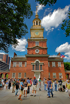Independence Hall. Photo by G. Widman for Visit Philadelphia.