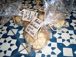 Mahlab shortbread at Honey & Co.