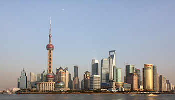 Shanghai is a start-of-the-art city with a soaring, and ever-rising, skyline.