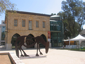 Negev Museum of Art. Photo by Esther Hecht.