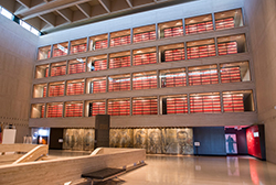 The LBJ Presidential Library. Photo courtesy of the library.
