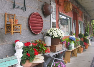 Save time to stroll through and shop in quaint Peterborough. Photo by Esther Hecht.