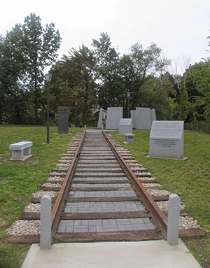 The New Hampshire Holocaust Memorial in Nashua. Photo by Esther Hecht.
