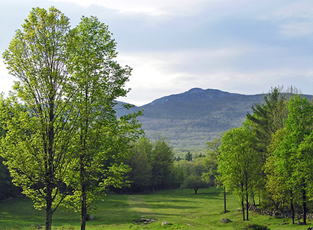 Mount Monadnock in the distance. Photo courtesy of NHDTTD/Jeffrey Newcomer.