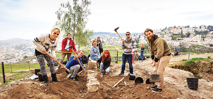 Getting Your Hands Dirty in Israel