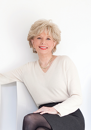 Lesley Stahl. Photo by Ken Pao.