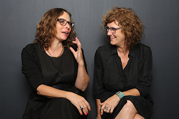 Yifat Anzelevich (left) and Anat Shperling.