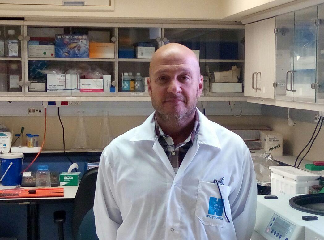 Eyal Mishani heads research and development at Hadassah Medical Organization.