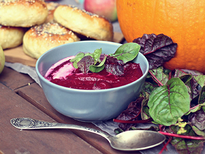 You can't beet borscht. Photo courtesy of Beigelistai.