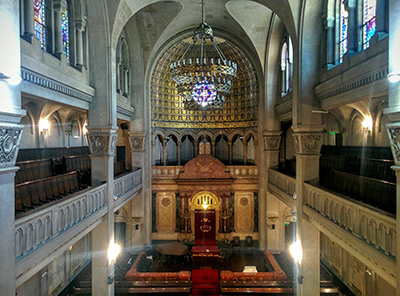 Templo Libertad's sanctuary.