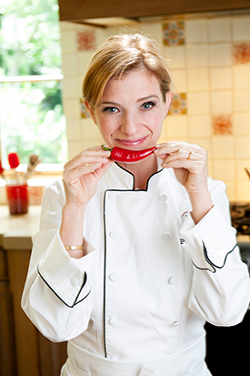 Pati Jinich. Photo by Michael Ventura.