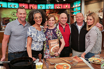 Pati Jinich (center) on ABC's 'The Chew.'