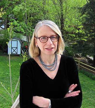 Roz Chast photographed by her husband, Bill Franzen.
