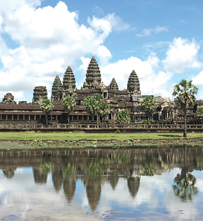 Angkor Wat. All photos by Joyce Eisenberg.