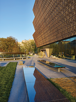 National Museum of African American History and Culture. Courtesy of Alan Karchmer/NMAAHC.
