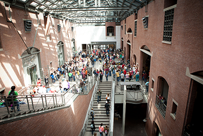 The United States Holocaust Memorial Museum. Photo courtesy of the museum.