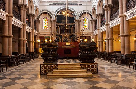 Kolkata's 133-year-old Maghen David Synagogue.