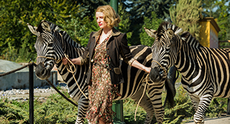 4101_D004_01936_R Jessica Chastain stars as Antonina Zabinski in director Niki Caro's THE ZOOKEEPER'S WIFE, a Focus Features release. Credit: Anne Marie Fox / Focus Features