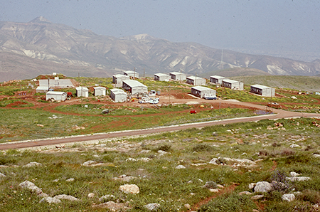 The moshav in 1972.