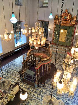 The Paradesi synagogue.