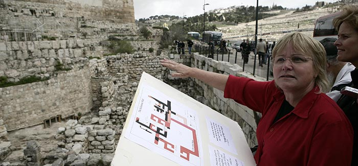 Digging Beneath the Surface: An Archeologist's View of the Temple Mount and its Environs