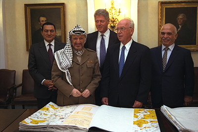The Oslo Accords of 1993 and 1994 set forth a negotiating framework and identified permanent-status issues.