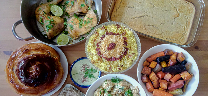 A Rosh Hashanah Menu Influenced by Israel and the Old World