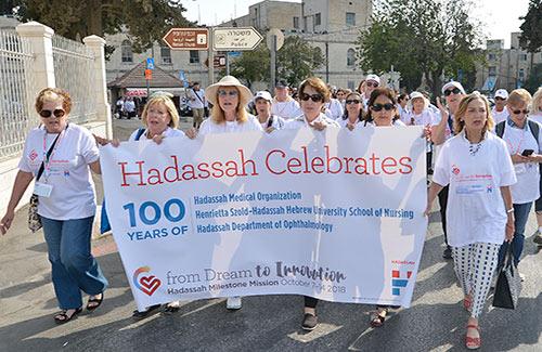 Marching Through Jerusalem