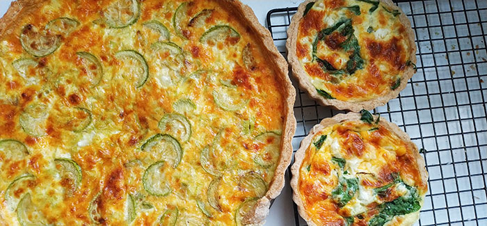 Quiche Makes an Elegantly Simple Late Spring Lunch