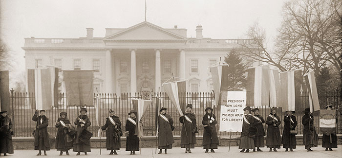 A Lesson in Advocacy From Jewish Suffragists